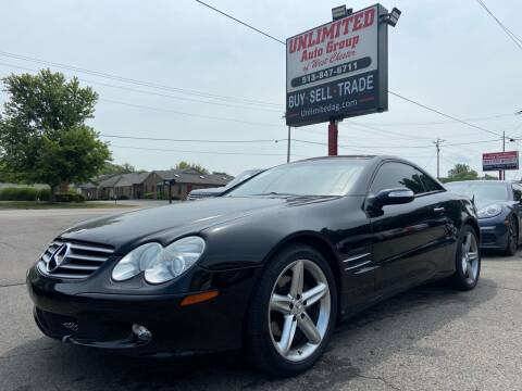 2004 Mercedes-Benz SL-Class for sale at Unlimited Auto Group in West Chester OH