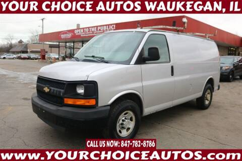 2010 Chevrolet Express Cargo for sale at Your Choice Autos - Waukegan in Waukegan IL