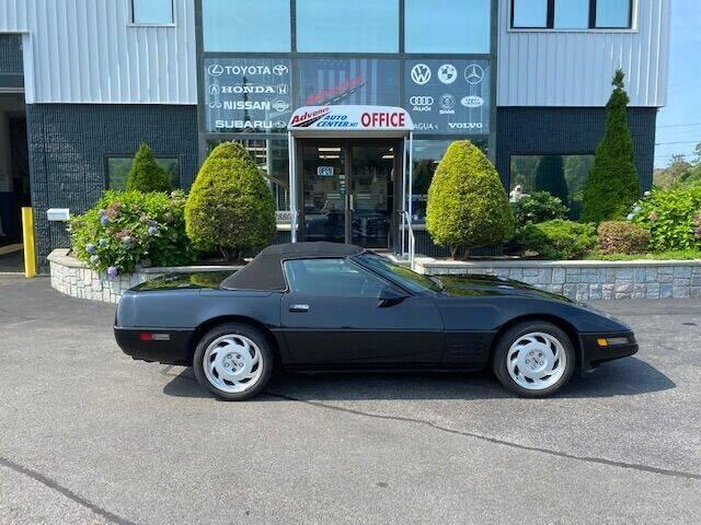 1992 Chevrolet Corvette for sale at Advance Auto Center in Rockland MA