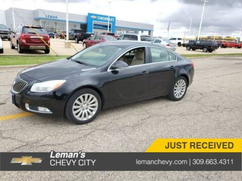 2012 Buick Regal for sale at Leman's Chevy City in Bloomington IL
