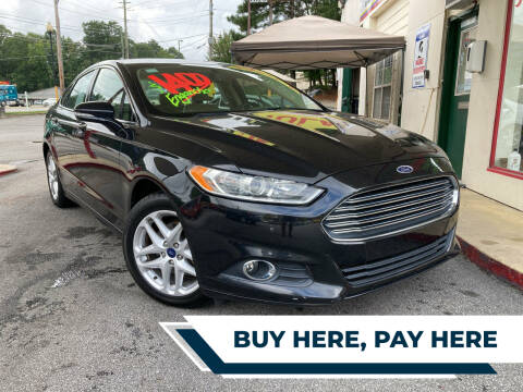 2013 Ford Fusion for sale at Automan Auto Sales, LLC in Norcross GA