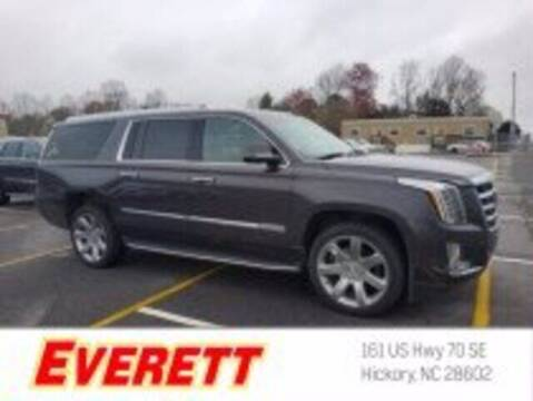 2018 Cadillac Escalade ESV for sale at Everett Chevrolet Buick GMC in Hickory NC