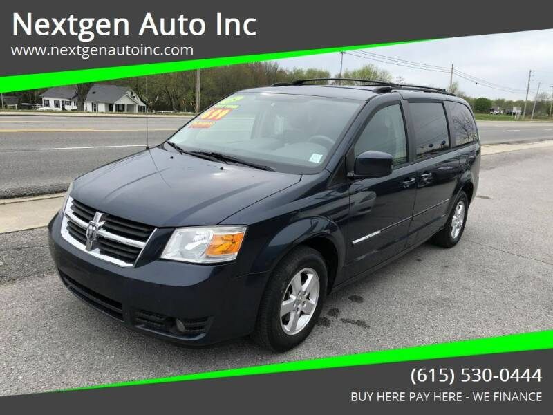 2008 Dodge Grand Caravan for sale at Nextgen Auto Inc in Smithville TN