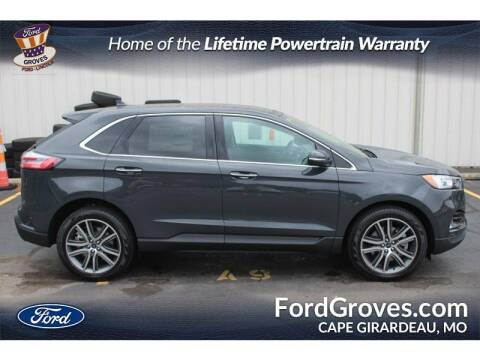 2021 Ford Edge for sale at JACKSON FORD GROVES in Jackson MO