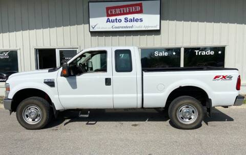 2010 Ford F-250 Super Duty for sale at Certified Auto Sales in Des Moines IA