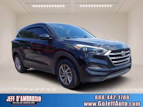 2017 Hyundai Tucson for sale at Jeff D'Ambrosio Auto Group in Downingtown PA