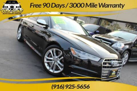 2016 Audi S6 for sale at West Coast Auto Sales Center in Sacramento CA