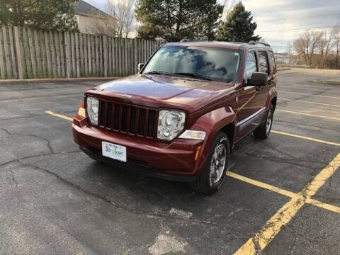2008 Jeep Liberty for sale at Stryker Auto Sales in South Elgin IL