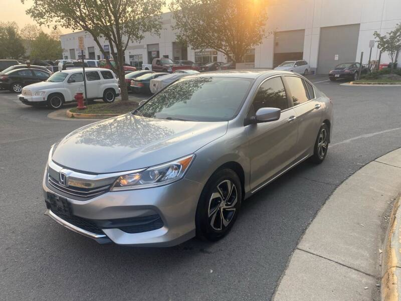 2016 Honda Accord for sale at Super Bee Auto in Chantilly VA