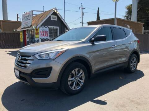 2016 Hyundai Santa Fe Sport for sale at C J Auto Sales in Riverbank CA