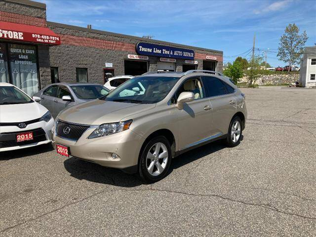 2012 Lexus RX 350 for sale at AutoCredit SuperStore in Lowell MA