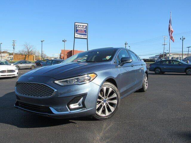 2019 Ford Fusion Hybrid for sale at Ron's Automotive in Manchester MD