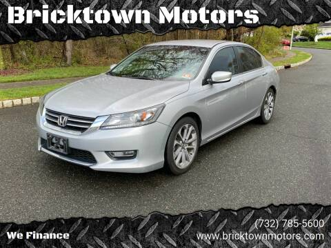 2013 Honda Accord for sale at Bricktown Motors in Brick NJ