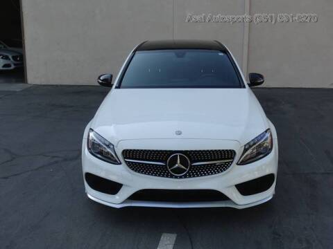 2017 Mercedes-Benz C-Class for sale at ASAL AUTOSPORTS in Corona CA
