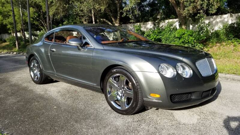 2005 Bentley Continental for sale at DELRAY AUTO MALL in Delray Beach FL