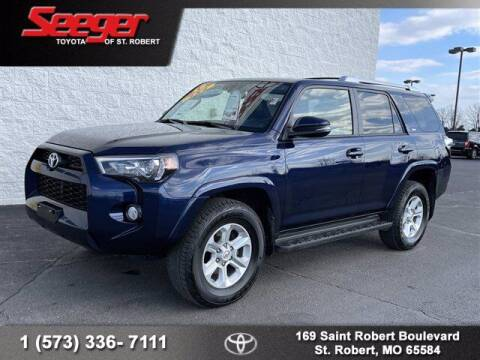 2018 Toyota 4Runner for sale at SEEGER TOYOTA OF ST ROBERT in St Robert MO