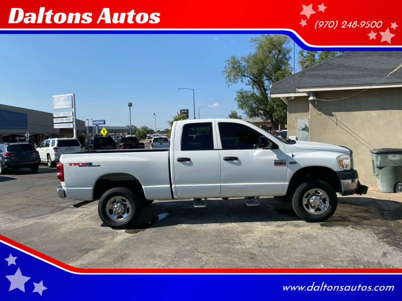 2008 Dodge Ram Pickup 2500 for sale at Daltons Autos in Grand Junction CO