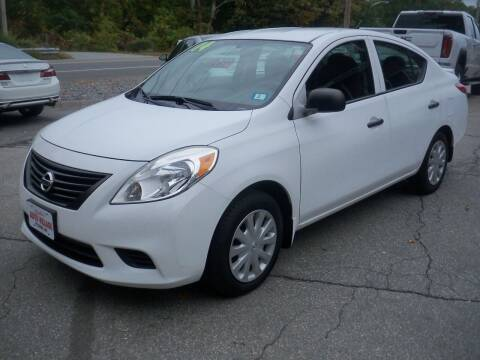 2014 Nissan Versa for sale at Charlies Auto Village in Pelham NH