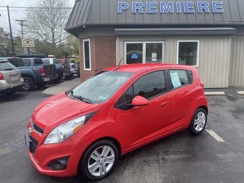 2013 Chevrolet Spark for sale at Premiere Auto Sales in Washington PA