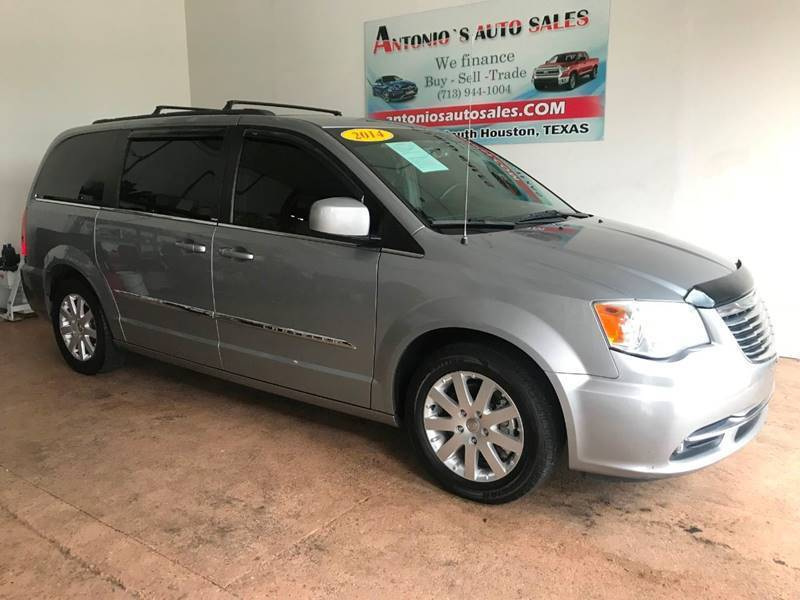 2014 Chrysler Town and Country for sale at Antonio's Auto Sales - Antonio`s  3001 in Pasadena TX
