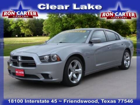 2014 Dodge Charger for sale at Ron Carter  Clear Lake Used Cars in Houston TX