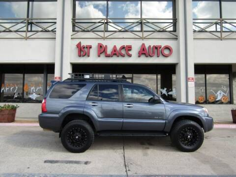 2006 Toyota 4Runner for sale at First Place Auto Ctr Inc in Watauga TX