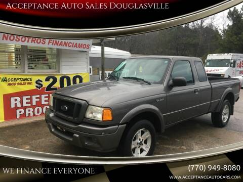 2005 Ford Ranger for sale at Acceptance Auto Sales Douglasville in Douglasville GA