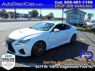 2016 Lexus RC F for sale at Auto Direct Trucks.com in Edgewater Park NJ