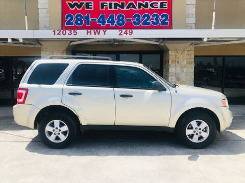 2010 Ford Escape for sale at FREDYS CARS FOR LESS in Houston TX