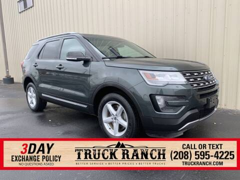 2016 Ford Explorer for sale at Truck Ranch in Twin Falls ID