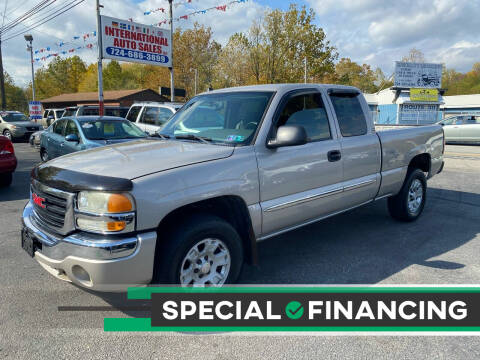 2005 GMC Sierra 1500 for sale at INTERNATIONAL AUTO SALES LLC in Latrobe PA
