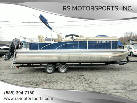 2014 Bennington S24 Pontoon Boat (Tritoon) for sale at RS Motorsports, Inc. in Canandaigua NY