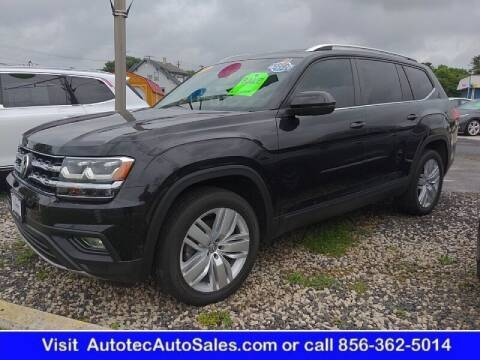 2019 Volkswagen Atlas for sale at Autotec Auto Sales in Vineland NJ
