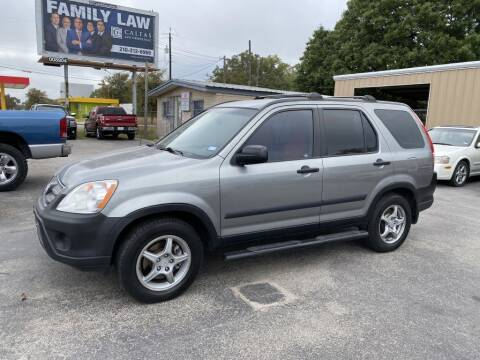 2006 Honda CR-V for sale at C&R  MOTORS in San Antonio TX