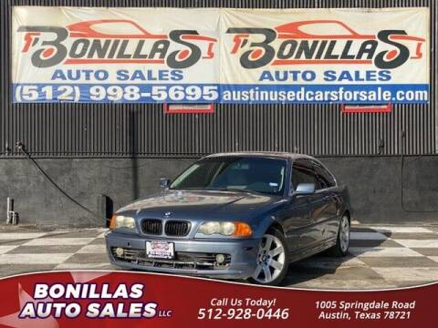 2001 BMW 3 Series for sale at Bonillas Auto Sales in Austin TX