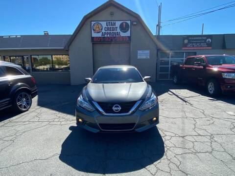 2017 Nissan Altima for sale at Utah Credit Approval Auto Sales in Murray UT