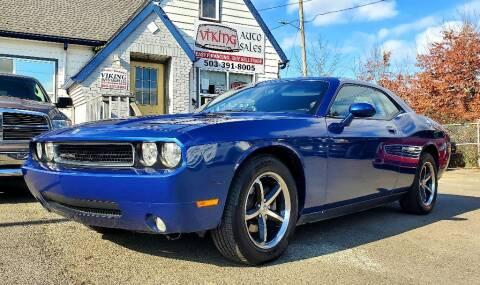2010 Dodge Challenger for sale at VIking Auto Sales LLC in Salem OR