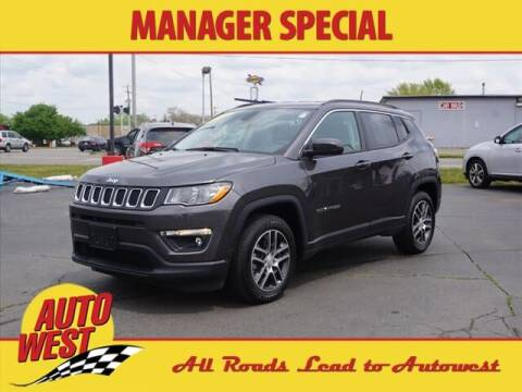 2019 Jeep Compass for sale at Autowest of GR in Grand Rapids MI