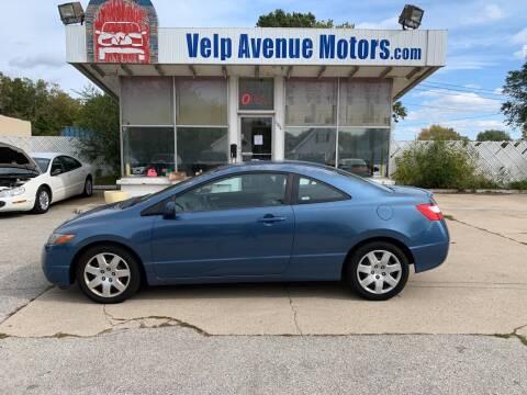 2008 Honda Civic for sale at Velp Avenue Motors LLC in Green Bay WI