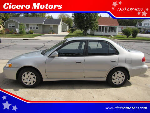 2002 Toyota Corolla for sale at Cicero Motors in Cicero IN