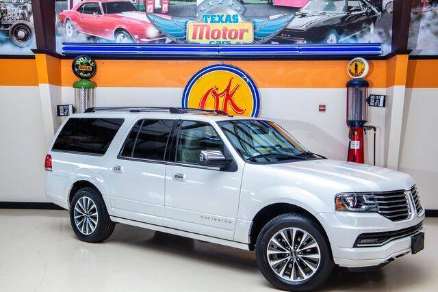 2017 Lincoln Navigator L for sale in Addison, TX