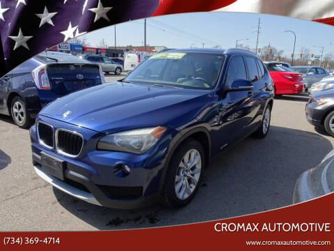 2014 BMW X1 for sale at Cromax Automotive in Ann Arbor MI