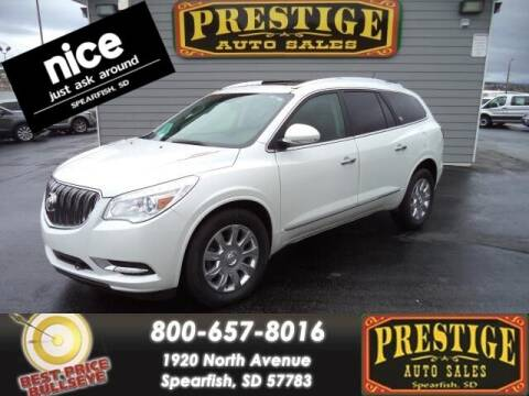 2017 Buick Enclave for sale at PRESTIGE AUTO SALES in Spearfish SD