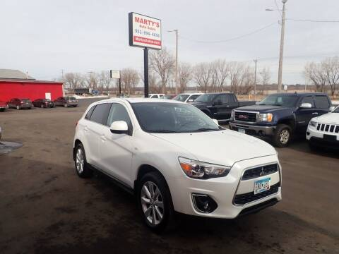 2013 Mitsubishi Outlander Sport for sale at Marty's Auto Sales in Savage MN