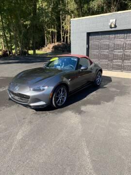 2018 Mazda MX-5 Miata for sale at Bluebird Auto in South Glens Falls NY