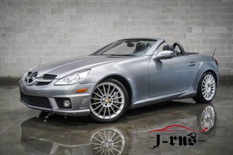 2010 Mercedes-Benz SLK for sale at J-Rus Inc. in Macomb MI