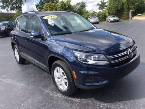 2016 Volkswagen Tiguan for sale at Newcombs Auto Sales in Auburn Hills MI