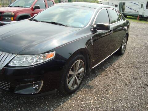 2009 Lincoln MKS for sale at Branch Avenue Auto Auction in Clinton MD