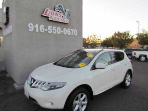 2010 Nissan Murano for sale at LIONS AUTO SALES in Sacramento CA