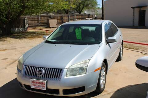 2006 Mercury Milan for sale at KD Motors in Lubbock TX